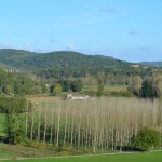 View of Doms farmhouse France